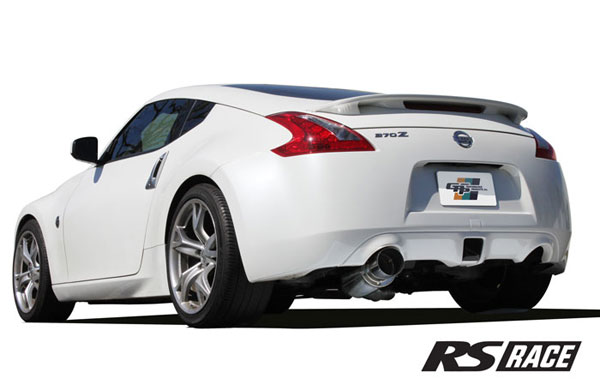 GReddy 10128406 | 09-16 Nissan 370z Revolution RS Exhaust (Incl. SS Y-Pipe); 2009-2016