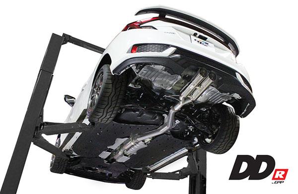 GReddy 10158600 | Greddy 2017+ Honda Civic SI Coupe DD-R Resonated Exhaust; 2017-2020