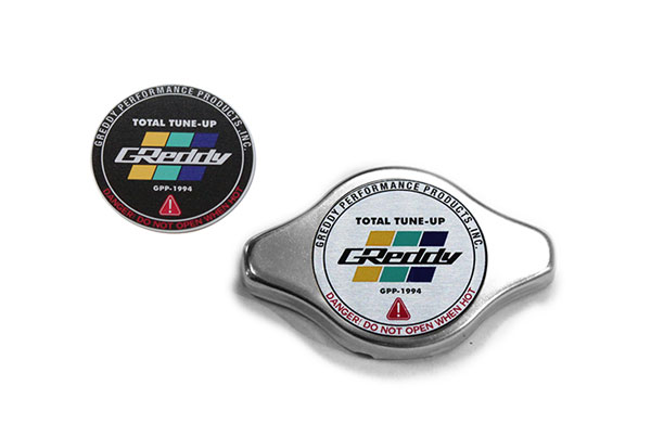 GReddy 13911009 | Type-N No Relief Radiator Cap Most Honda / Some Toyota - Polished