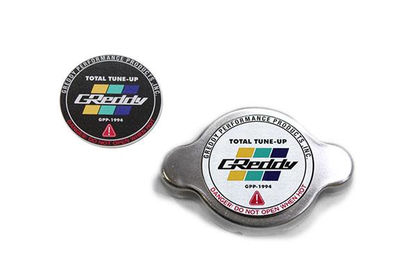 GReddy 13911010 | Type-S No Relief Radiator Cap Most Nissan/Subaru/Mazda/Mitsubishi/Some Toyota - Polished