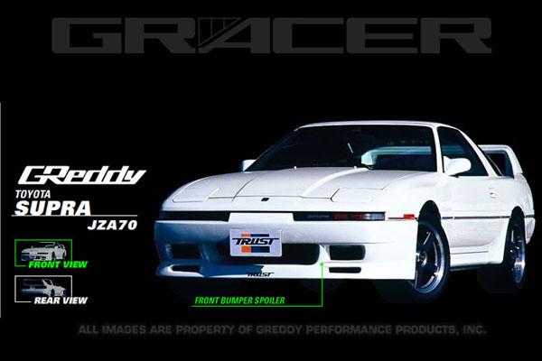 GReddy 17010011 | 87-92 Toyota Supra Gracer Front Facia **SPECIAL ORDER**; 1987-1992