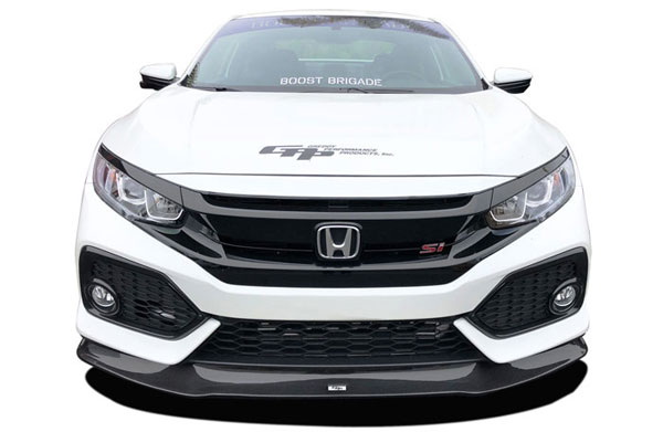 GReddy 17550100 | 2017+ Honda Civic Si Coupe/Sedan Front Lip Spoiler; 2017-2020