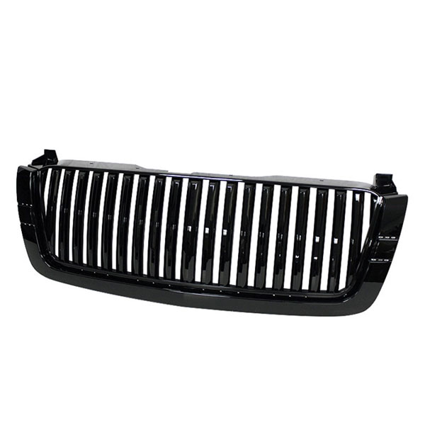 xTune GRI-SP-CS03-CT-BK:  Chevrolet Silverado 03-06 Center Only ( Require HD-YD-CS03-1PC Headlight ) Front Grille - Black