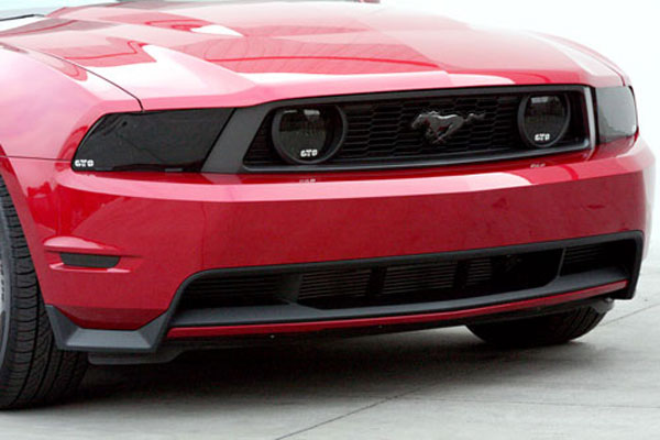 GT Styling GT0215FS:  2010 Mustang GT smoke foglight covers V8