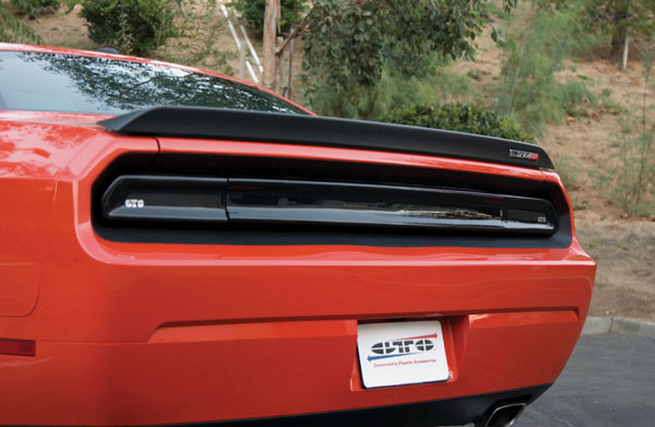 GT Styling (GT4163)  GTStyling Challenger Smoke Rear Center Blackout Panel (solid)