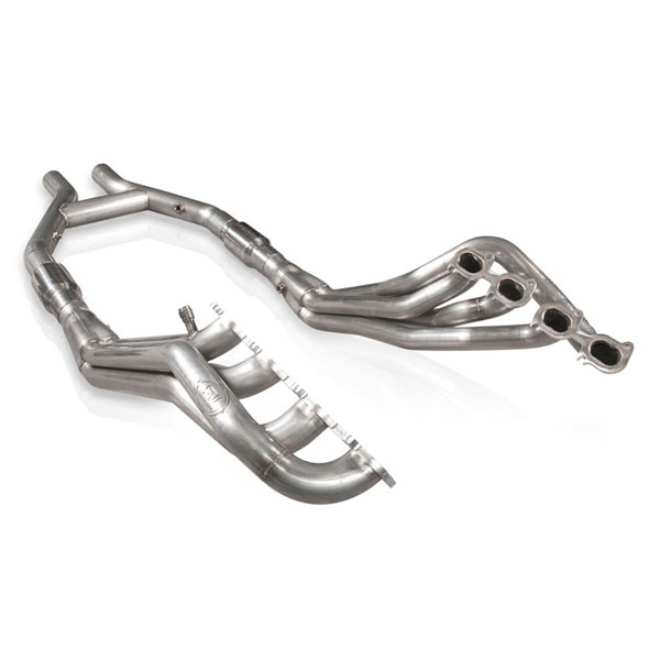 Stainless Works GT145HCATHP:  Ford Shelby GT500 2007-14 Headers Catted H-Pipe