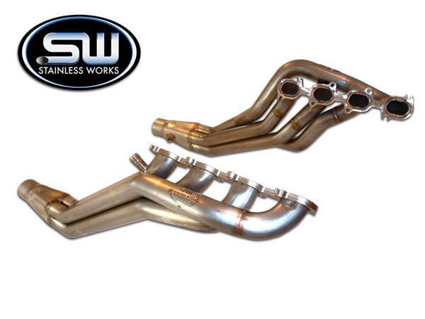 Stainless Works GT5H:  2007 - 2010 Ford Mustang GT500 5.4L Headers 1-7/8in V8