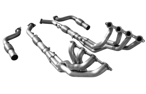 American Racing Headers GTO-05178300LSWC: Pontiac GTO 2005-2006 Long System With Cats: 1-7/8in x 3in Header, 3in Connection Pipes With Cats