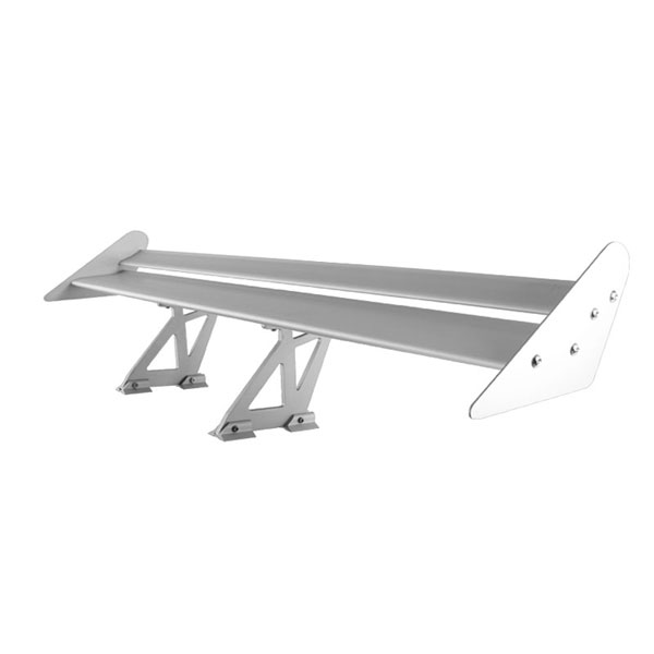 xTune GTW-SP-TI-SL |  Type I 52 Inch Double Deck GT Wing Aluminum - Silver; 2000-2013