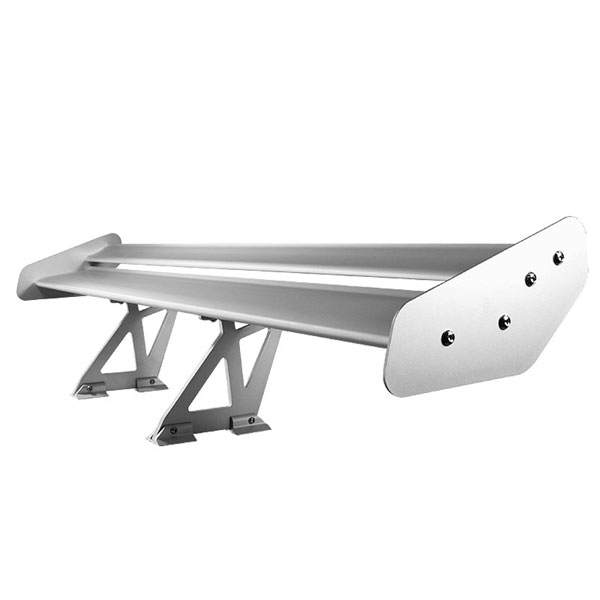 xTune GTW-SP-TV-SL |  Type V 52 Inch Double Deck GT Wing Aluminum - Silver; 2000-2013