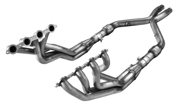 American Racing Headers GTX-04178300LSWC: GTO 2004-2006 Header 1 7/8in x 3in, 3in X-Pipe Long System, With Cats