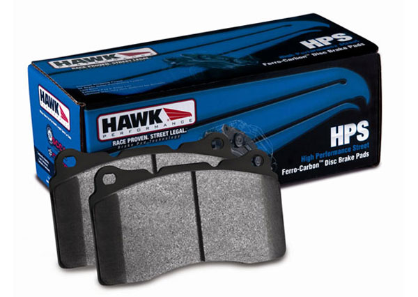 Hawk HB453F585.HB194F570 | HPS Brake Pads for Camaro Front and Rear Set; 2010-2012