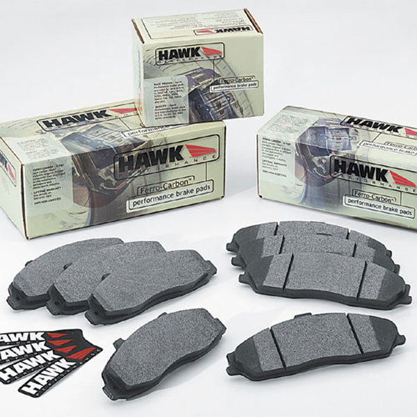 Hawk (HB182F660)  Performance Brake Pads, 1994-1998 Mustang GT & V6, Front
