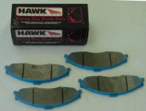 Hawk HB248F.650 | Brake Pads - HPS Compound Brake Pads, Rear Set; 1997-2004