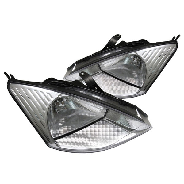 xTune HD-JH-FF00-C |  Ford Focus 00-04 Crystal Headlights - Chrome