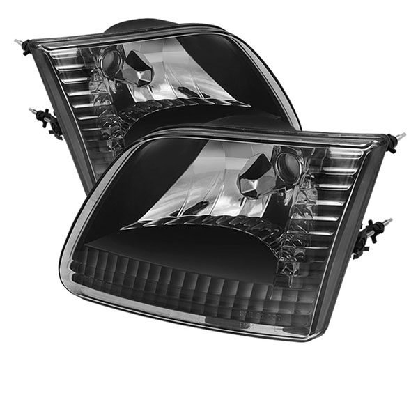 xTune HD-JH-FF15097-BK    Ford F150 / Expedition ( Will Not Fit Anything Before Manu. Date June ) Crystal Headlights - Black; 1997-2002