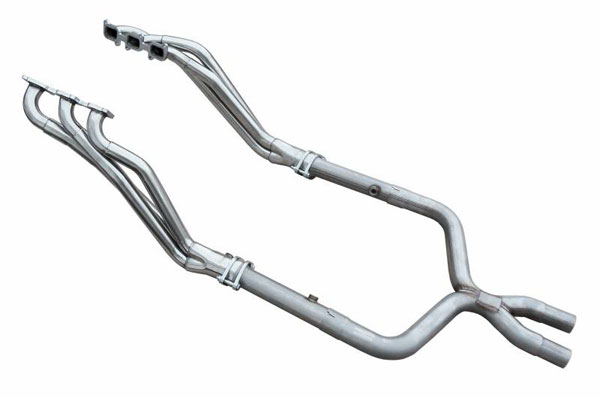 Pypes Exhaust HDR72SK: Pypes Mustang V6 Long Tube Headers with X-Pipe 2011-14