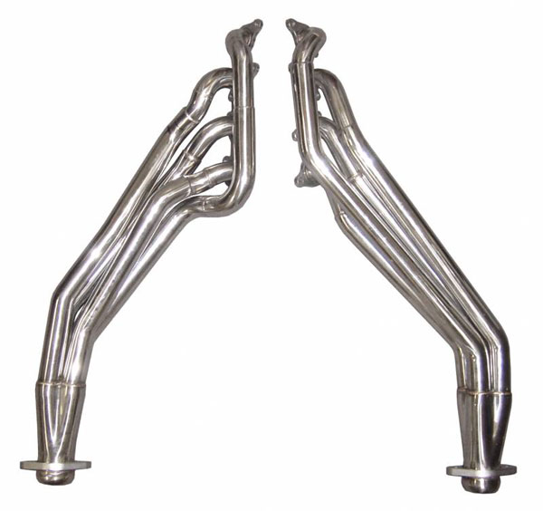 Pypes Exhaust HDR78S: Pypes Mustang GT Long Tube Headers 2015-16, 1-3/4 Primary Tubes Step to 1-7/8 and 3 inch Collectors