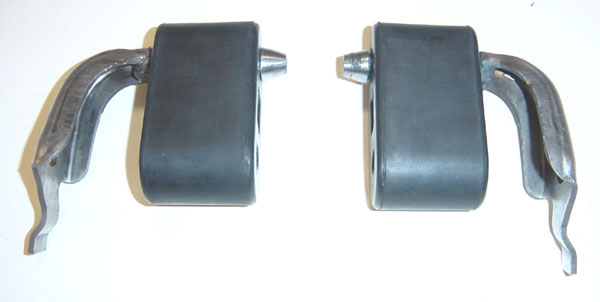 Pypes Exhaust HFM79 | Pypes mustang tailpipe hangers; 1979-1993