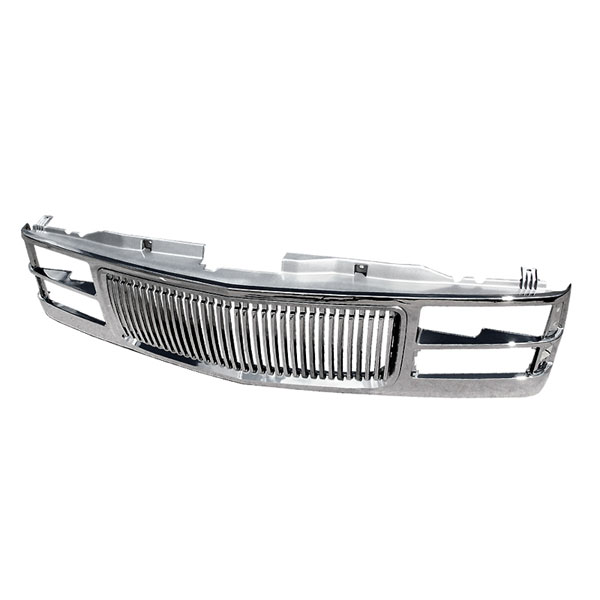 Spec-D Tuning HG-C1094C-TY: Spec-D 94-98 C10 1pc Chrome Grill