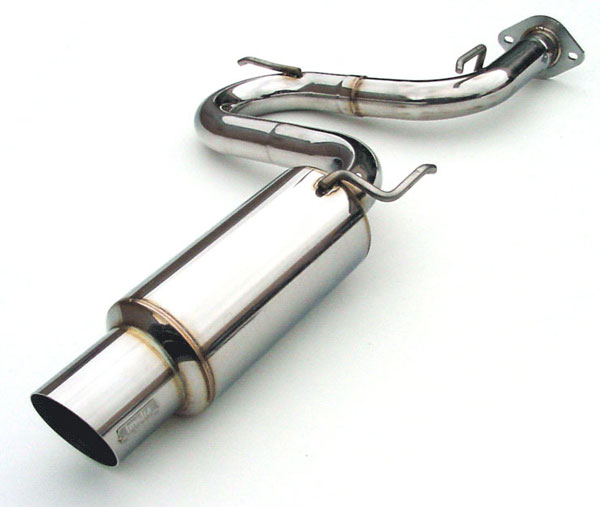 Invidia Exhausts HS00TC1GTP: INVIDIA CELICA N1 CAT-BACK EXHAUST SYSTEM, 00-05