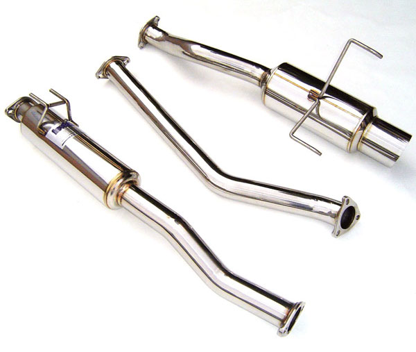Invidia Exhausts HS01AR1GTP: INVIDIA RSX DC5 TYPE-S N1 CAT-BACK EXHAUST SYSTEM, 01-06