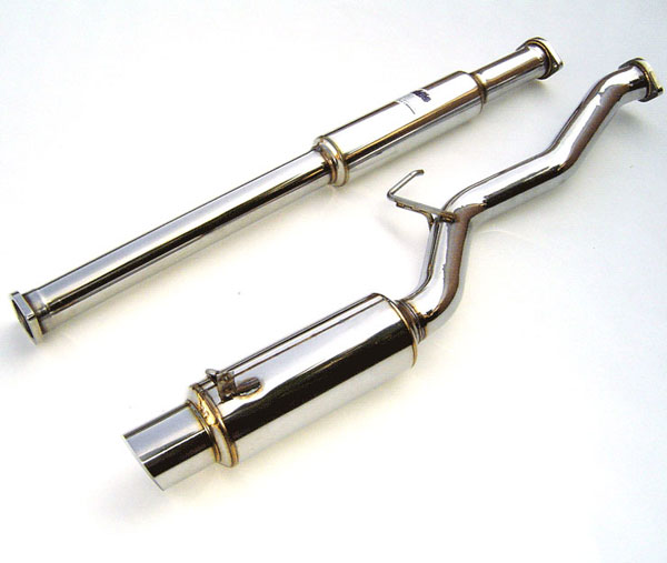 Invidia Exhausts HS03ML8GTP: INVIDIA EVO 8 N1 CAT-BACK EXHAUST SYSTEM, 03-08