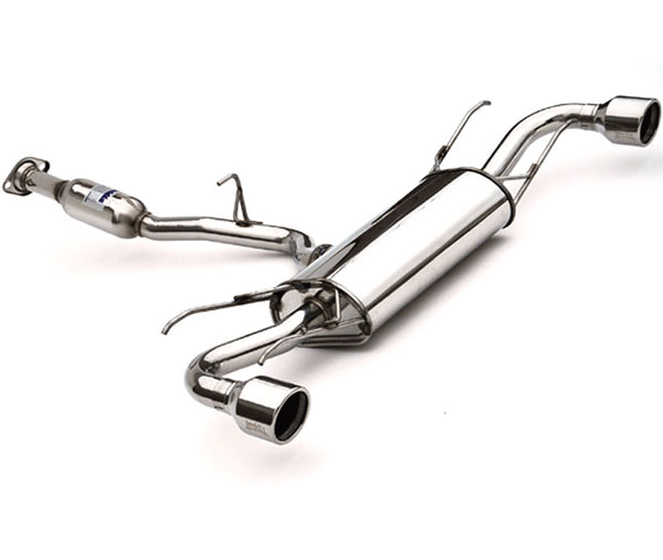 Invidia Exhausts (HS04ZR8G3S) Invidia Rx-8 Q300 Rolled S.S Tip Cat-Back Exhaust System, 04-16