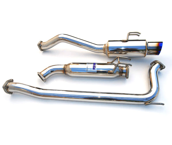 Invidia Exhausts HS06HC4GTT: INVIDIA CIVIC SI SEDAN N1 70mm TITANIUM TIP CAT-BACK EXHAUST SYSTEM, 06-11