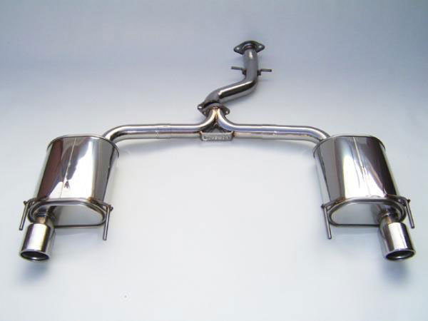 Invidia Exhausts HS06LGSGT3: INVIDIA GS300/350 Q300 AXLE-BACK (NO MID-PIPE) EXHAUST SYSTEM, 06-11