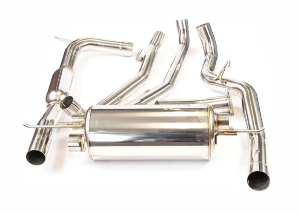 Invidia Exhausts HS07FN2G2T | Invidia Civic Type-R Fn2 Euro-Spec G200 Cat-Back Exhaust System; 2006-2016