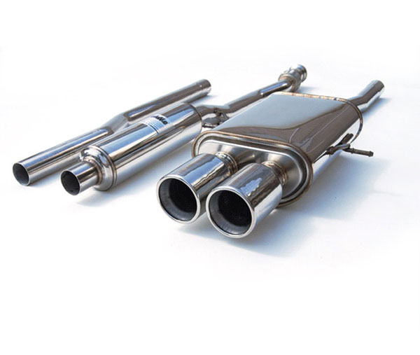 Invidia Exhausts HS07MCSGTP: INVIDIA COOPER S Q300 STAINLESS STEEL TIPS CAT-BACK EXHAUST SYSTEM, 07-16