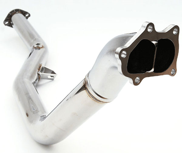 Invidia Exhausts HS08SW1DPN | Invidia Wrx/Sti & 05-09 Legacy Divorcde Waste Gate Down-Pipe, 08-14