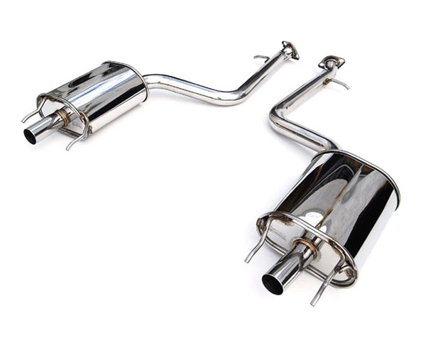 Invidia Exhausts HS12LGSG3H: INVIDIA GS350 Q300 AXLE-BACK (NO MID-PIPE) EXHAUST SYSTEM, 12-16