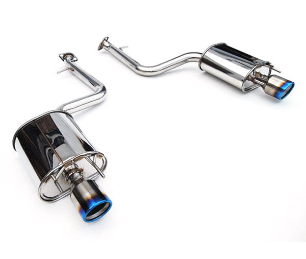Invidia Exhausts HS13LISG3T: INVIDIA IS250/350 Q300 ROLLED TITANIUM TIP AXLE-BACK (NO MID-PIPE) EXHAUST SYSTEM, 13-16