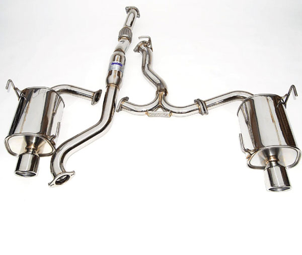 Invidia Exhausts HS14SFXG3S | Invidia Forester Xt Q300 Rolled S.S. Tip Cat-Back Exhaust System; 2014-2016