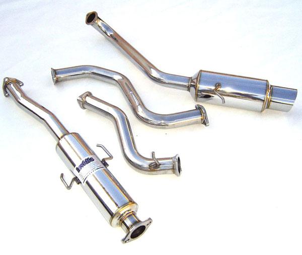 Invidia Exhausts HS88HCXGTP | Invidia Cr-X Ef8 N1 Cat-Back Exhaust System; 1988-1991