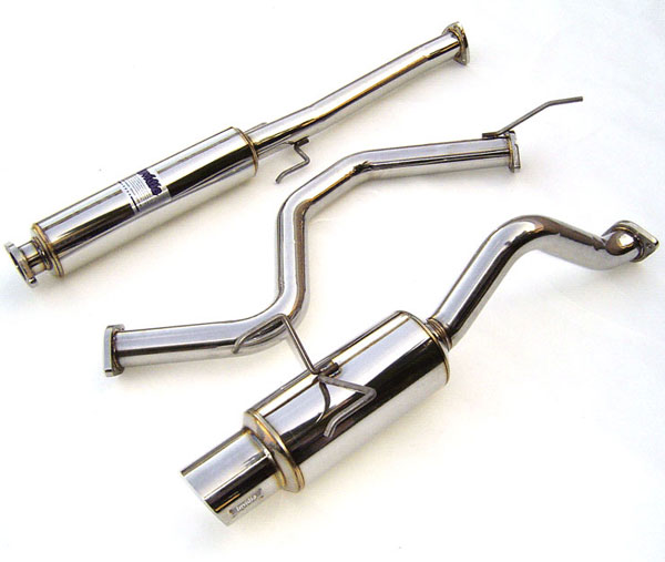 Invidia Exhausts HS92HC3GTP: INVIDIA CIVIC EG6 3DR N1 CAT-BACK EXHAUST SYSTEM, 92-95