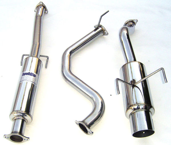 Invidia Exhausts (HS92HD1GTP) Invidia Del Sol N1 Cat-Back Exhaust System, 92-95