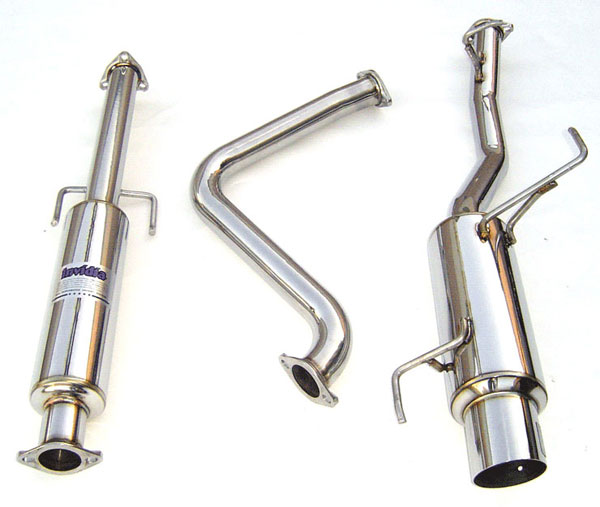 Invidia Exhausts HS92HP1GTP: INVIDIA PRELUDE BB1/BB4 N1 CAT-BACK EXHAUST SYSTEM, 92-96