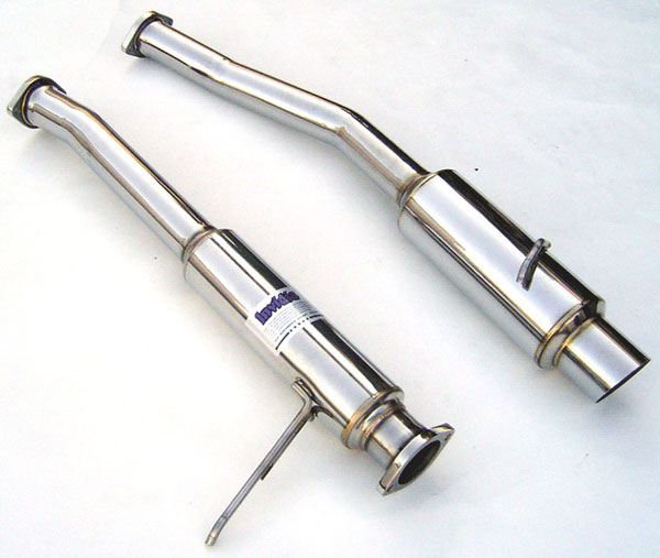 Invidia Exhausts HS93TSTGTP: INVIDIA SUPRA TURBO JZA80 N1 CAT-BACK EXHAUST SYSTEM, 93-98