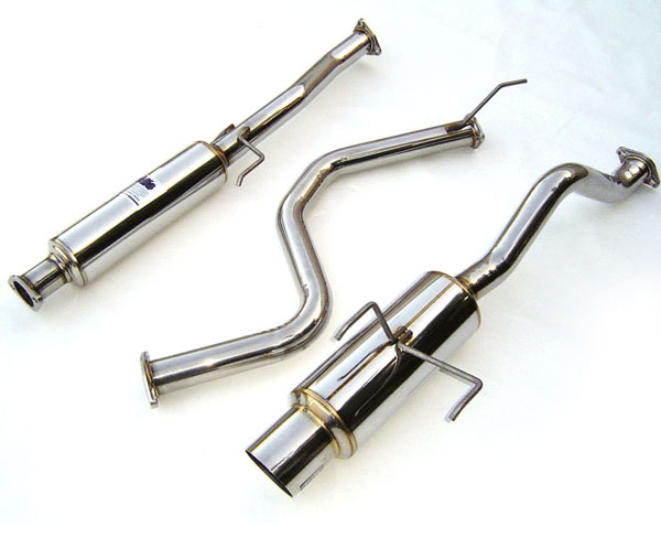 Invidia Exhausts HS94AI1GTP: Invidia Integra Type-R 2dr N1 Cat-Back Exhaust System, 97-01