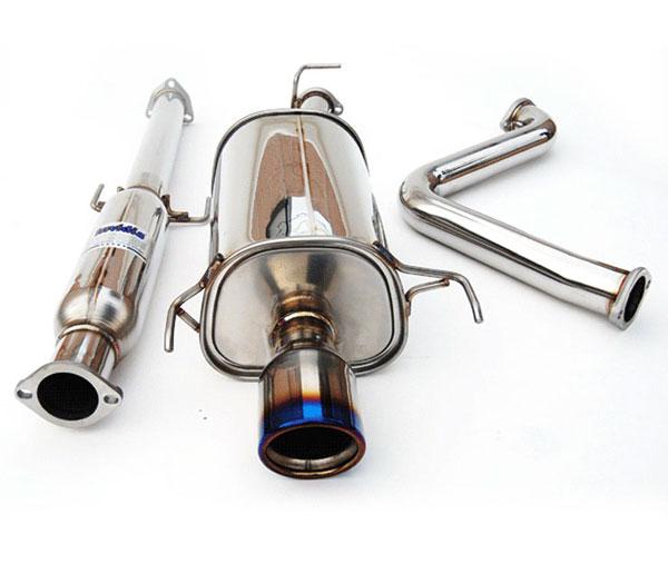Invidia Exhausts HS97HP1G3T | Invidia Prelude Q300 Rolled Titanium Tip Cat-Back Exhaust System, 97-01 Sh Model