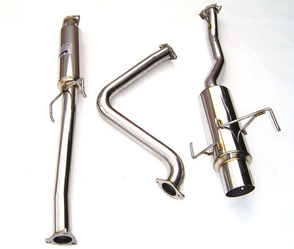 Invidia Exhausts (HS97HP1GTP) Invidia Prelude N1 Stainless Steel Tip Cat-Back Exhaust System, 97-01