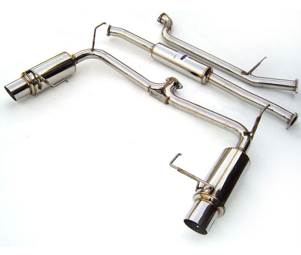 Invidia Exhausts HS98HA6GTP | Invidia Accord 6cyl 2dr/4dr N1 Cat-Back Exhaust System; 1998-2001