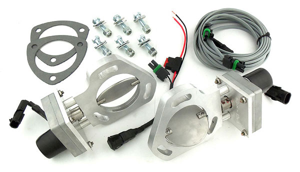 Pypes Exhaust HVE10 | Pypes Electric Exhaust Cutout Kit (pair) V8 3 inch