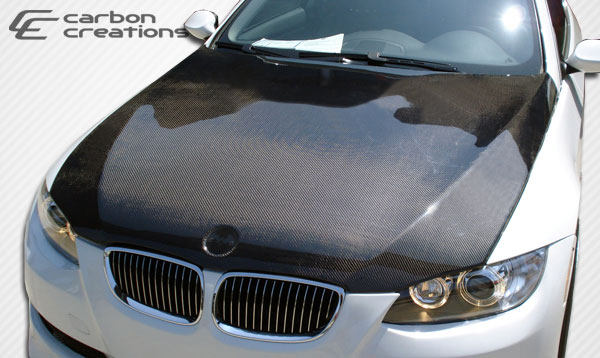 Carbon Creations 104764 | BMW 3 Series E92 E93 Convertible 2DR Carbon Creations OEM Hood 1-Piece; 2007-2010