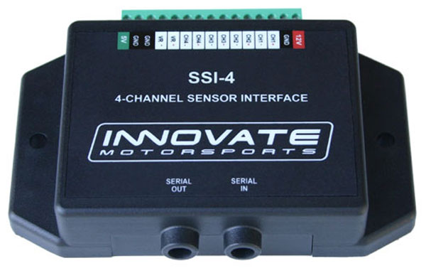 Innovate 3783 |  SSI-4 (4 Channel Simple Sensor Interface)