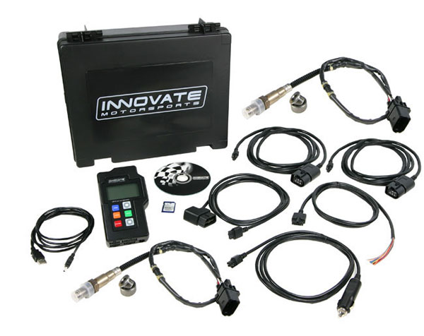 Innovate 3807:  LM-2 Duo Kit: Digital Air/Fuel Ratio Meter Dual Channel Wideband w/ OBD II