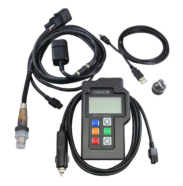"Innovate 3837 |  LM-2: Digital Air/Fuel Ratio Meter ""Basic Kit"" Single Channel Wideband; 1996-2014"